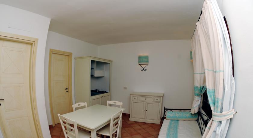 Zona Giorno in Residence Appartamenti Vignola Mare