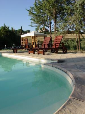 Residence Casale Il Podere Perugia Gubbio piscina
