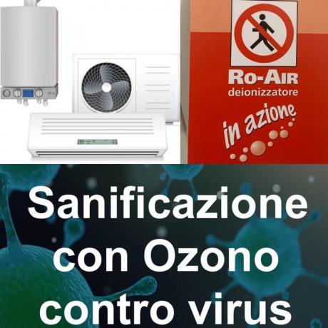 Sanificazione con Ozono in Sicilia, Azienda Certificata
