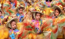 The carneval and the children