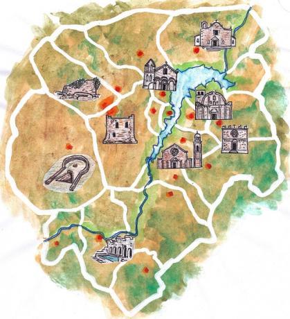 Villaggio e Campeggio a Guilcer Barigadu Sardegna