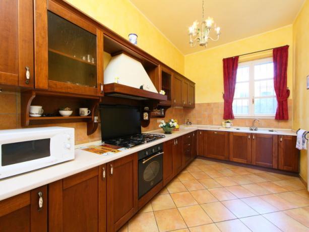 Cucina in Villa Vacanza in Umbria
