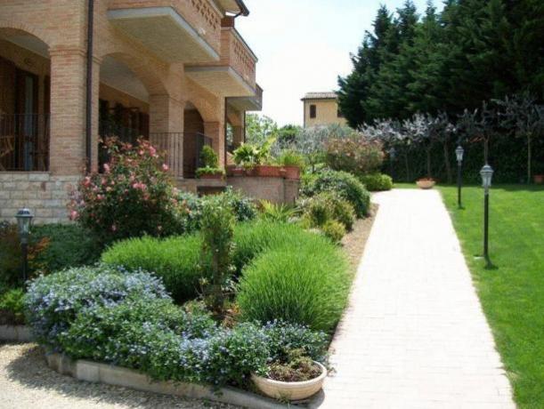 Appartamento a Montefalco con ampio Giardino