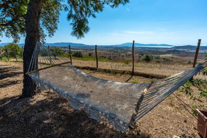 Romantica Casa sull'Albero vista Mare Argentario