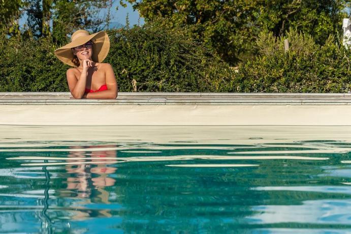 Resort con piscina idromassaggio ideale per coppie