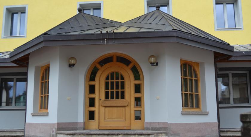 vista dell'hotel di Folgaria
