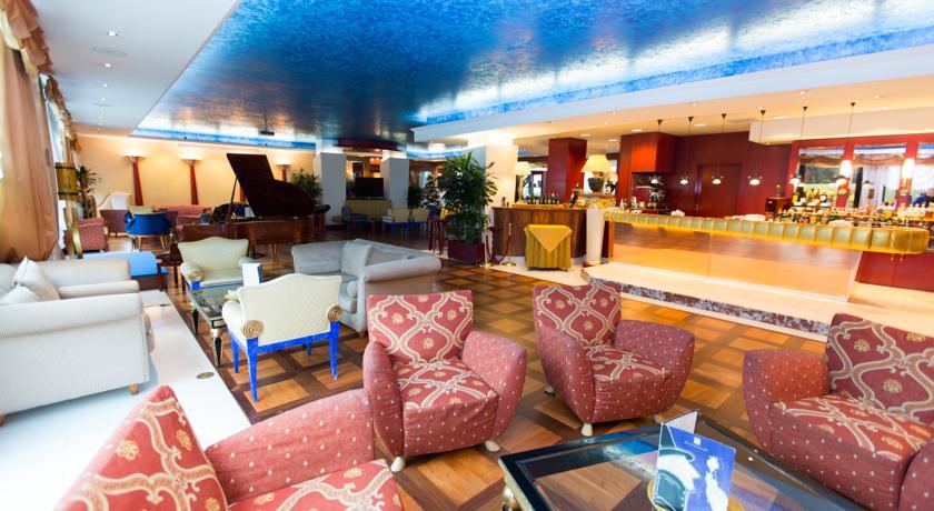 Hall hotel Pomezia Roma 4 stelle