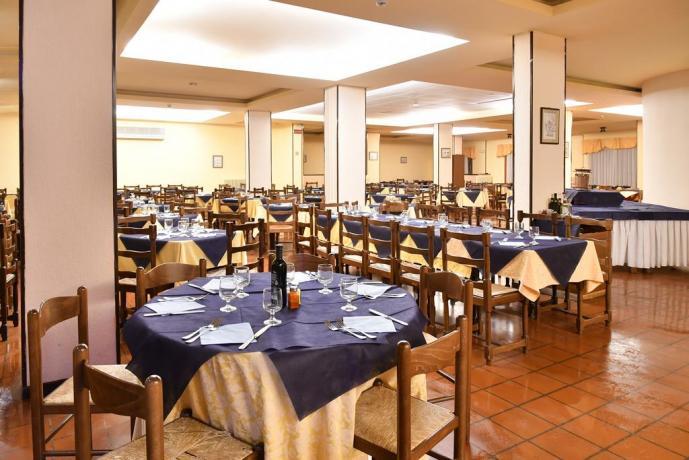 Sala Ristorante Hotel a Pizzoferrato