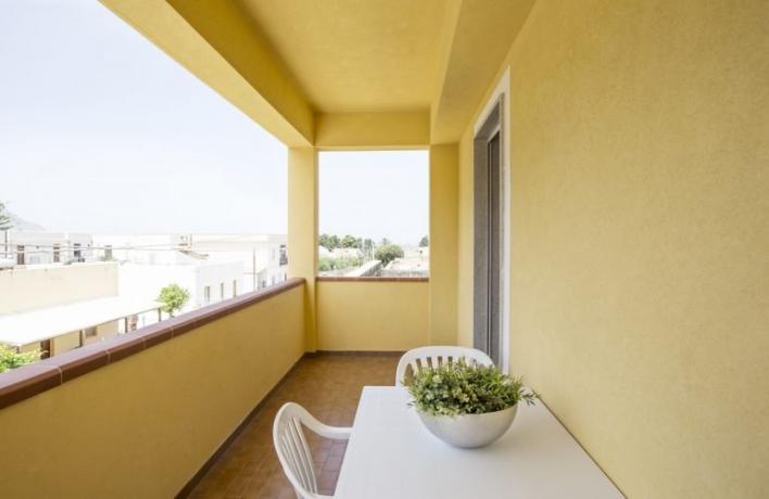 Appartamento-vacanze con terrazzo vicino al mare San-Vito-lo-Capo