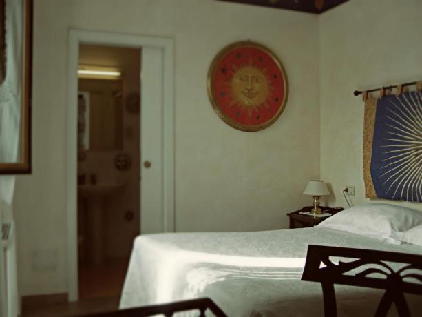 Camera arredamento raffinato Locanda di charme maremma toscana