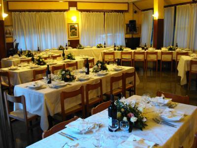 Il ristorante interno 120 coperti