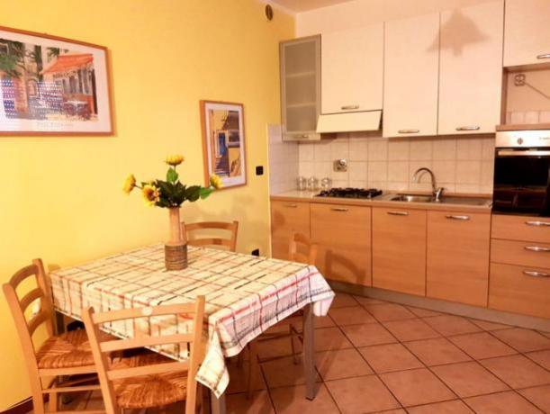 Casa Vacanza Foligno - soggiorno cucina