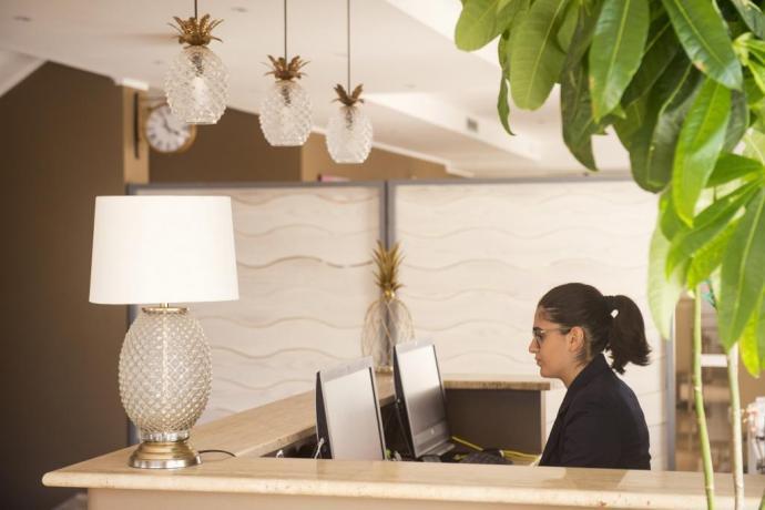 Reception hotel 4 stelle Campania Ascea