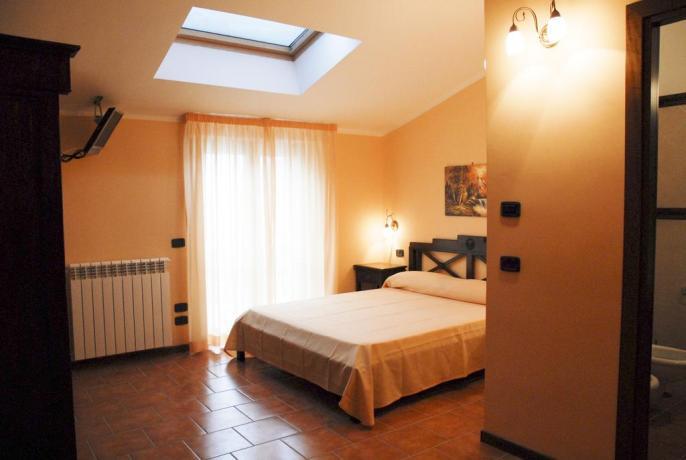 Camera matrimoniale hotel ad Alfedena