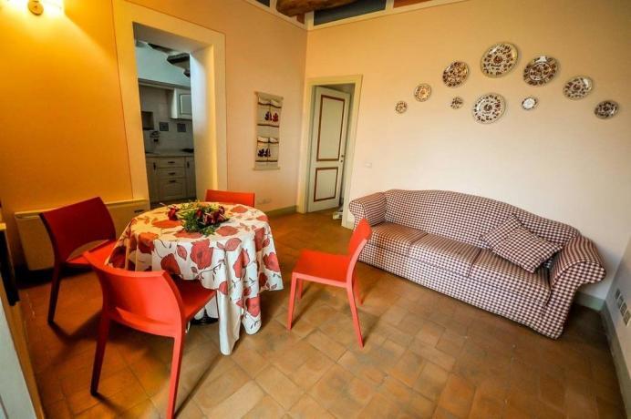 Appartamenti con ampio soggiorno e Aria Condizionata