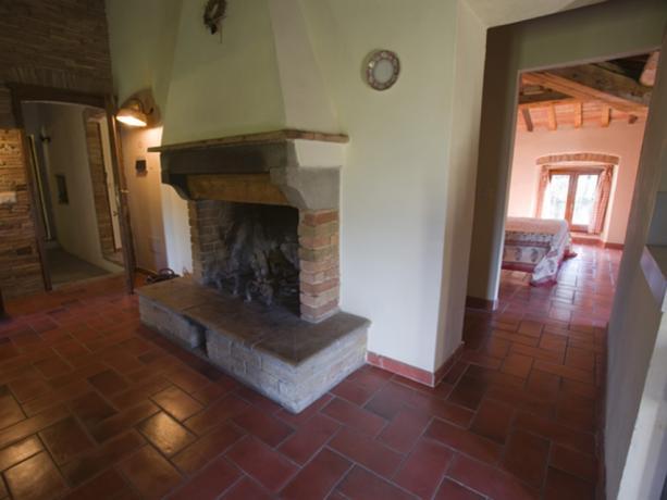 Appartamenti con Camino Agriturismo Umbertide Umbria
