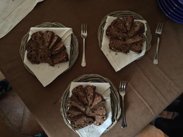 Torta cioccolato Casale Montecchio vicino Lago Corbara