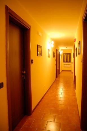 Corridoio camere hotel vicino Roccaraso