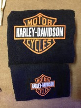 Asciugamani ricamati Harley Davidson