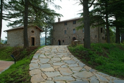 Resort in Country House in Gubbio