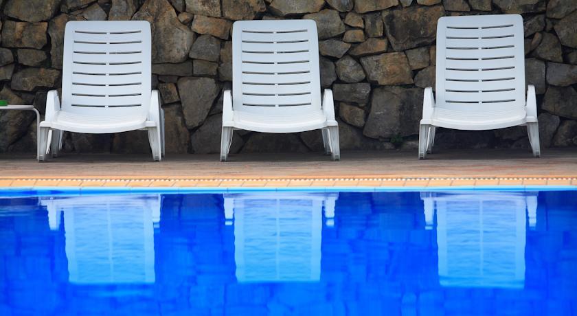 Ampia piscina esterna, Hotel di lusso a Palinuro