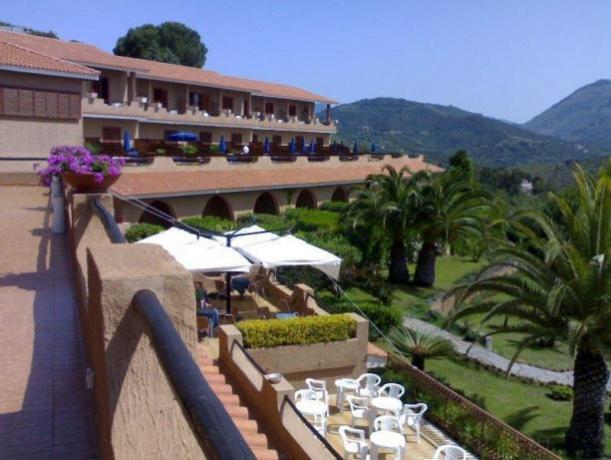 Hotel Residence a Palinuro con vista mare