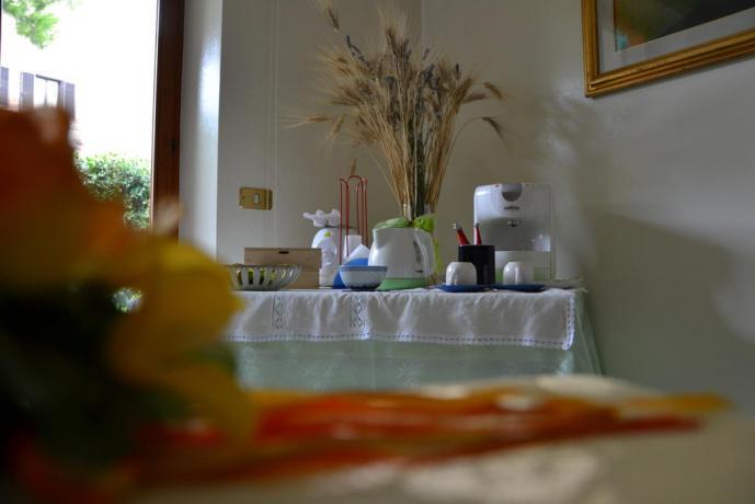 Prima colazione con prodotti locali a Porto Sant'Elpidio