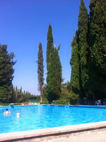 Grande piscina hotel 3 stelle Città-di-Castello