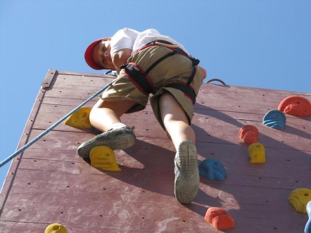 Agriturismo Perugia scuola arrampicata