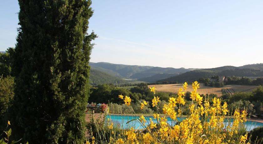 Vista Panoramica sulle Colline di Todi Umbria