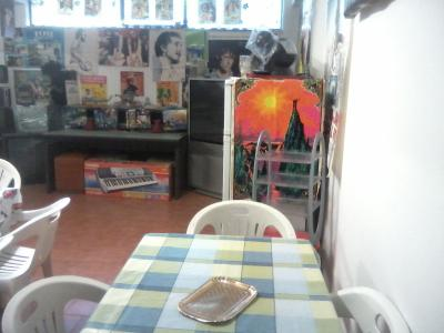 Sala relax del Bed and Breakfast animali ammessi