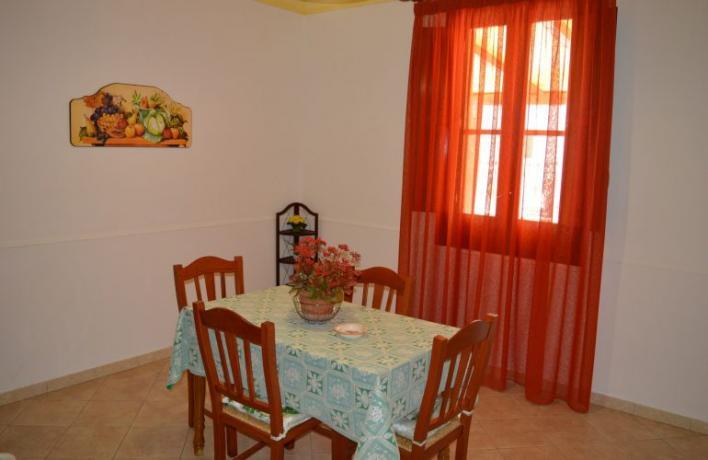 Appartamento per vacanze San-Vito-lo-Capo per famiglie-amici