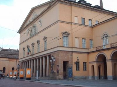 Stay in Parma, Regio-theatre