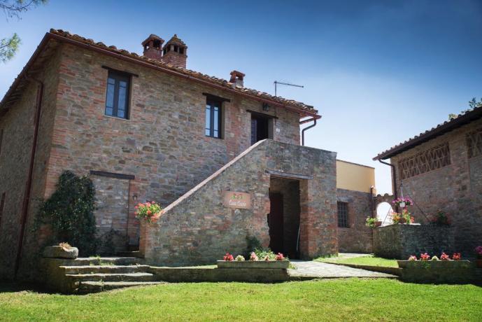 Casale vicino Perugia con Piscina