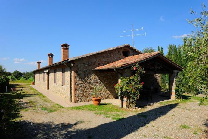 Agriturismo con appartamenti vicino Castiglione del Lago