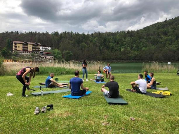 Lezioni yoga a Trento hotel3stelle Lavarone