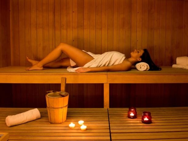 SPA con sauna e bagno turco hotel4stelle Manfredonia