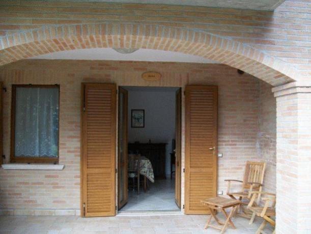 Terrazza in casa Vacanze a Montefalco