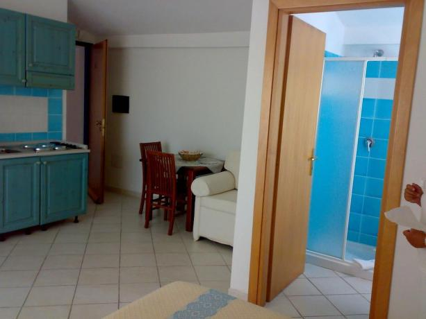 Suite con Cucina e Balcone hotel 3 stelle