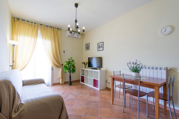 Appartamento bilocale uso doppio vicino Lago Vico