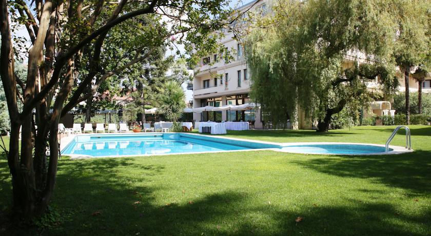 Piscina esterna Hotel Arcobaleno Padova Monselice