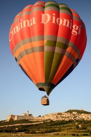 The balloon può ospitare gruppi  8/18 persone