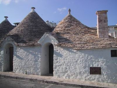 Details of the Trulli-houses