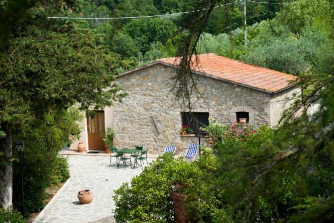 Appartamento vacanza Rifugio: Giardino privato