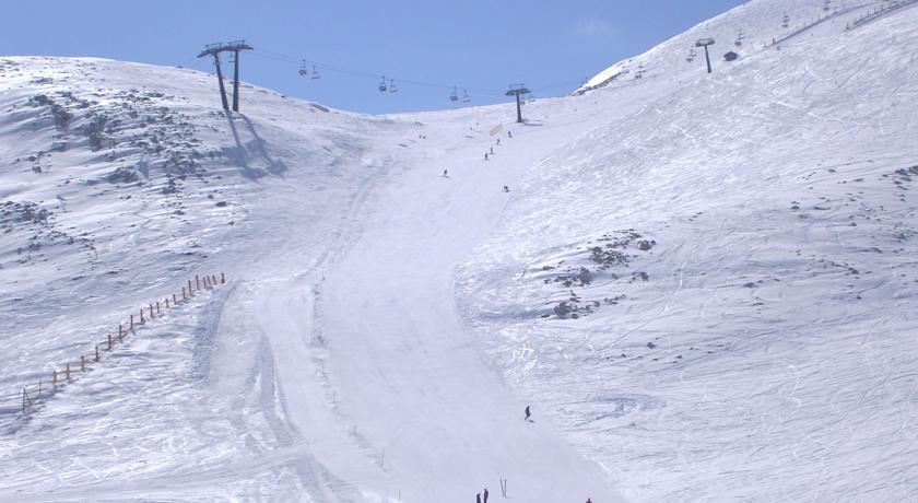 Piste da sci sul Gran Sasso d'Italia