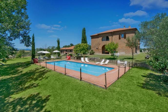 Villa esclusiva in Umbria con piscina