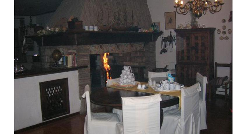 caminetto zona comune casa vacanze Terni Umbria