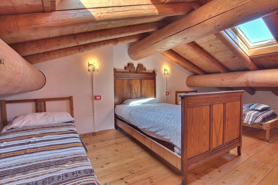 Camera con due letti singoli Agriturismo sul Como