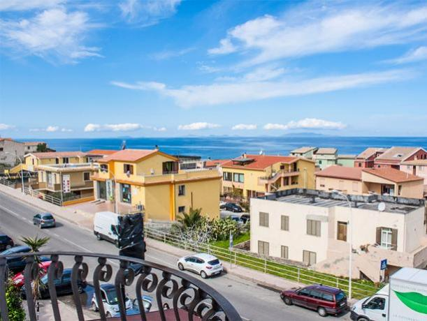 Camere con Balcone vista Mare a Castelsardo