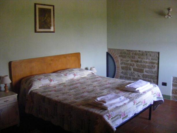 Appartamenti Gubbio con camera matrimoniale